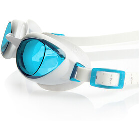 speedo Aquapure Gogle Kobiety, white/blue